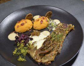 Max' Geschmacks Vorschlag: Gegrilltes Karpfen-Filet an Süßkartoffelstampf