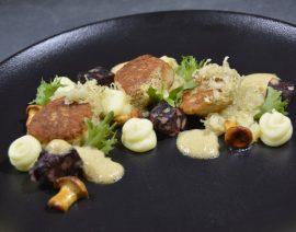 Max' Geschmacks Vorschlag: Karpfenpraline mit Blutwurst