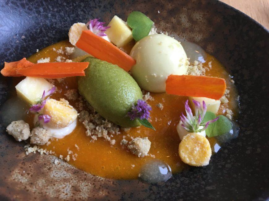 Max' Geschmacks Vorschlag: Gebackener Matjes mit Fächerkartoffeln