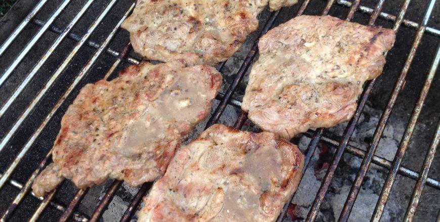 Tomahawk-Steak vom Grill